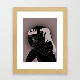 My Beloved King Framed Art Print