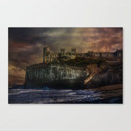 Storm Front On The Seafront Canvas Print