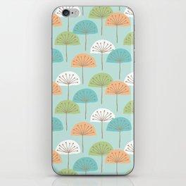 wispy flowers iPhone Skin