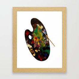 Colour pallet Framed Art Print
