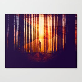 The New Rise Canvas Print