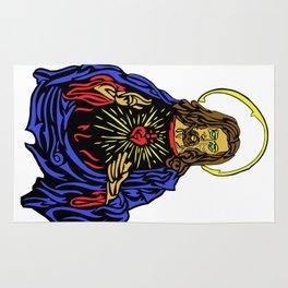 Freeform Jesus Rug