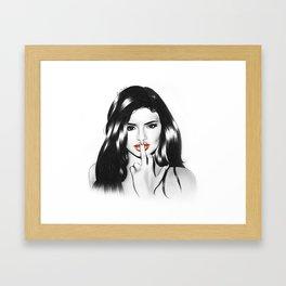 Kylie Framed Art Print