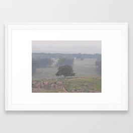 Little Round Top Framed Art Print