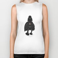 bender Biker Tanks featuring Darth Bender by Andy Whittingham