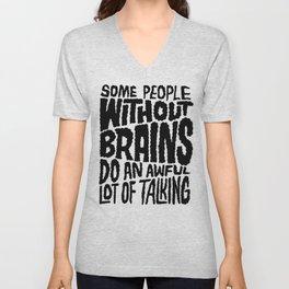 People Without Brains Unisex V-Neck