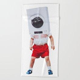 machine boy Beach Towel