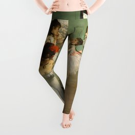 "Edgar Degas ""The dance class"" Leggings"