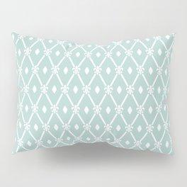 Trendy Elegant Modern Trellis Pattern Pillow Sham