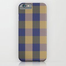 Pixel Plaid - Spring Thaw iPhone 6s Slim Case