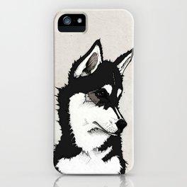 Nico the Husky iPhone Case