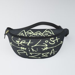 Get Lost in Pizza Fanny Pack