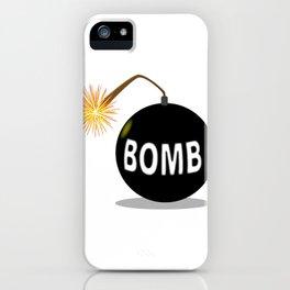 Cartoon Bomb iPhone Case
