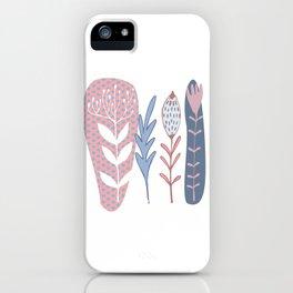 Deco floral iPhone Case