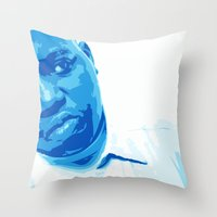 notorious Throw Pillows featuring Notorious by 100mill