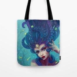 Indigo Dreamweaver Tote Bag