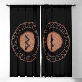 Berkano Elder Futhark Rune secrecy, silence, safety, mature wisdom, dependence, female fertility Blackout Curtain