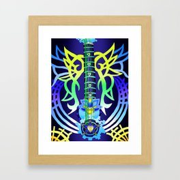 Fusion Keyblade Guitar #200 - Ultima Weapon & Dual Disk Framed Art Print