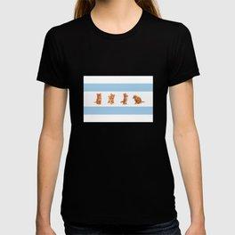 KITTEN FLAG OF CHICAGO! T-shirt