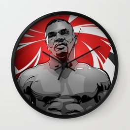 Mike Tyson Wall Clock