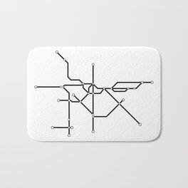 Metro São Paulo Bath Mat
