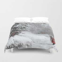 Go ahead, take it. It will be our secret. Duvet Cover