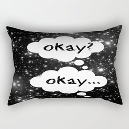 Okay Okay The Fault in Our Stars Rectangular Pillow