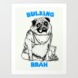 It's ok brah, I'm bulking Art Print