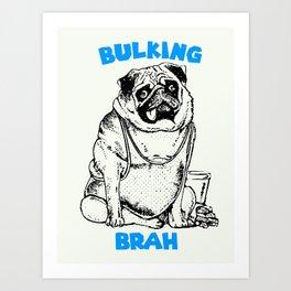 It's ok brah, I'm bulking Art Print