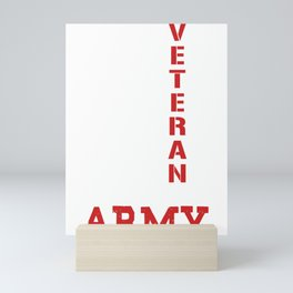 Veteran of the United States Mini Art Print