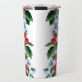 Cherries Vintage Design Travel Mug