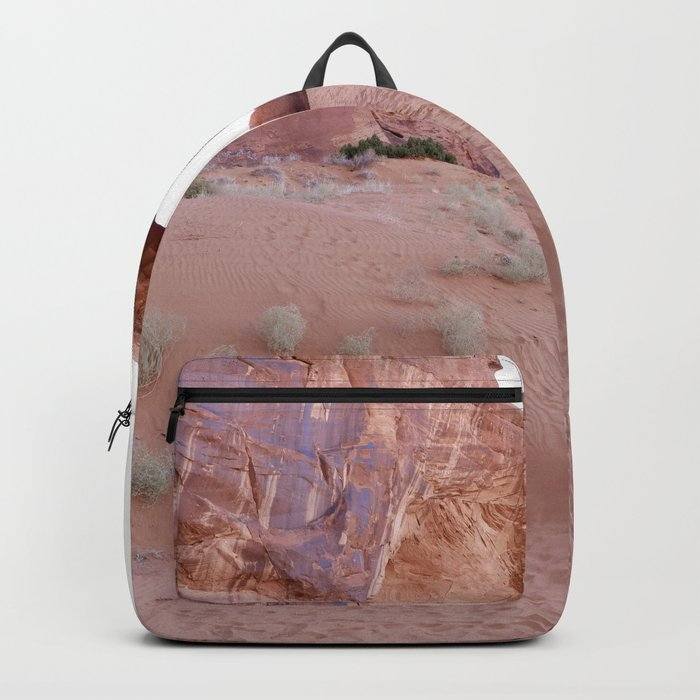 The Ear, the Backcountry, the Sand, and my Dad Backpack