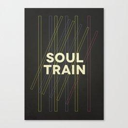 SoulTrain Tribute Canvas Print