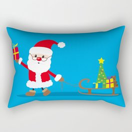 Santa Claus Rectangular Pillow
