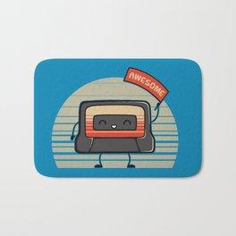 Cute Mix Tape Bath Mat