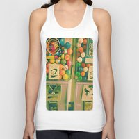 gumball Tank Tops featuring goody goody gumball! by helene smith photography