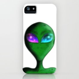 Alien Eyes iPhone Case