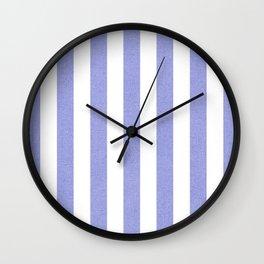 Purple textured Vertical Lines Wall Clock