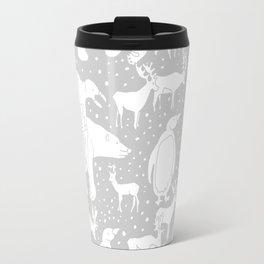 Polar gathering (latte) Travel Mug