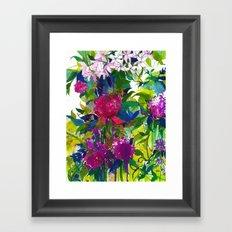 Summer Petals Framed Art Print