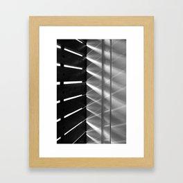 Game of light Framed Art Print