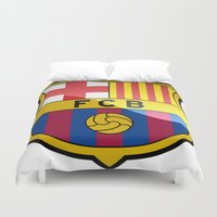 barcelona Duvet Covers featuring BARCELONA by Acus