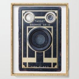 Vintage Brownie Camera Serving Tray