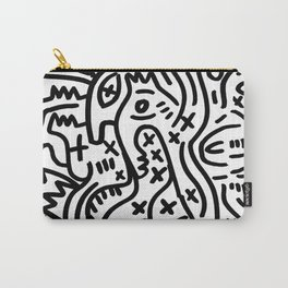 Graffiti Street Art Black and White Carry-All Pouch