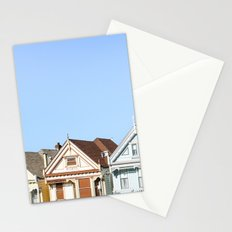 San Francisco's Painted Ladies Stationery Cards