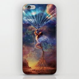 Bound To Be Human iPhone Skin
