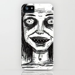 CRAZY DUDE iPhone Case