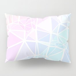 Pastel Triangles 1 Pillow Sham