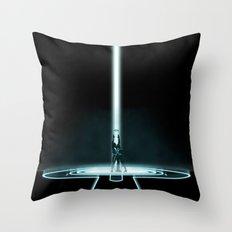 TRON PORTAL Throw Pillow