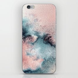 Pink and Blue Oasis iPhone Skin